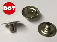 Genuine DOT Press Snap Post Fastener Boat Canvas Canopy Cover Nickel Plated